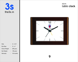 Custom Table Clock