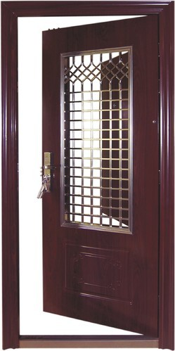 Safty door safety door designs for home safety doors for Entrance door designs for flats in india