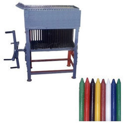 Pastel Wax Crayons Making Machine Exporter From Delhi