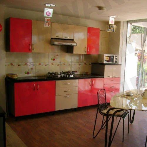 Straight Line Kitchen Layout: One Line Modular Kitchens, Kitchen & Dining Furniture