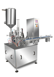 Automatic And Semi Automatic Single And Three Phase Cup Filling Machine , Packaging Material : Paper