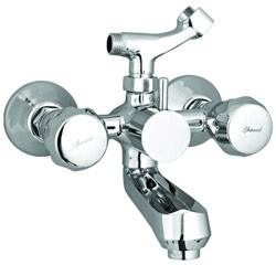 Wall Mixer Telephonic With Shower Stand