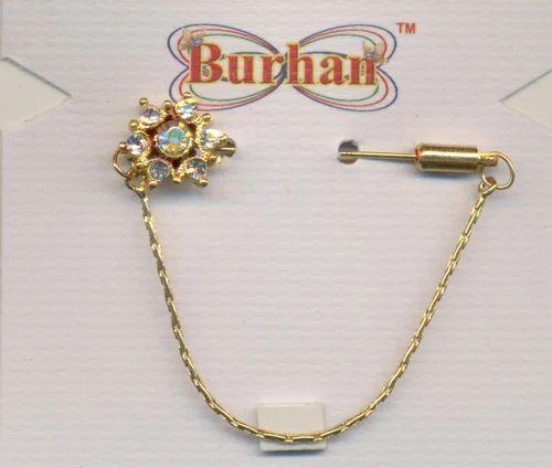 Scarf Chain Hijab Pin