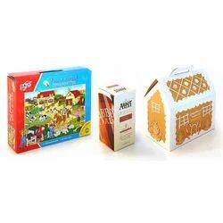 Paper White Laminated Carton Boxes