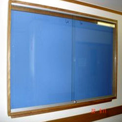 Glass Notice Board