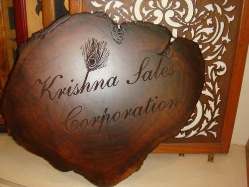 Engraved Wood