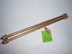 6 conifer Plastic Scroll Rods For Scroll Invitation, Size: 7, Packaging Type: Custom