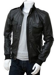 Leather Jackets - Men Leather Jackets Manufacturer from Ludhiana