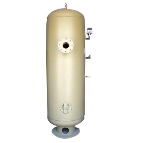 MS Vertical Air Receiver Tank, Storage Capacity: 500-1000 L