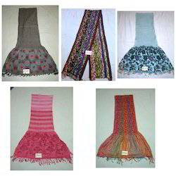Viscose Lycra Shawls, Stoles And Scarves