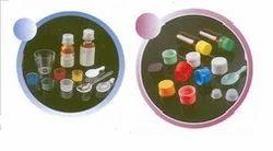 Plastic Caps, Cups & Spoon