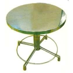 Steel Round Dining Table