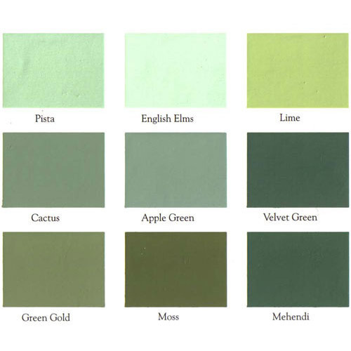 Exterior Emulsion Shade Cards