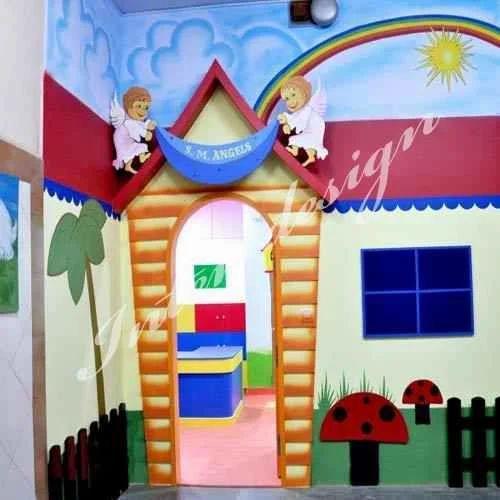 Interior Designing Services: Play School Interior Designing Services In Andheri, Mumbai