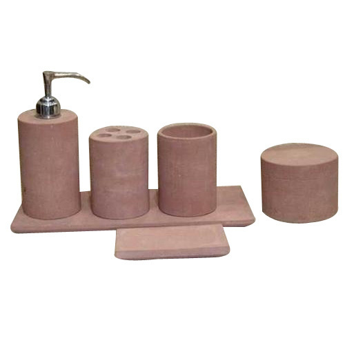 Amazing Sandstone Bathroom Accessories