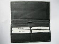Black Cheque Book Holders