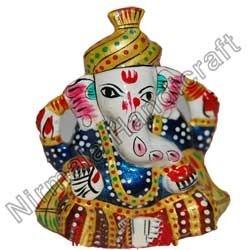 Handcrafted Ganesha Statue With Safa