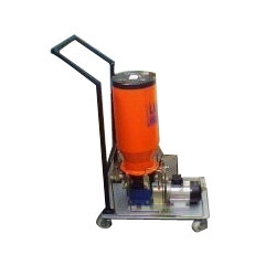 Motorized Mobile Grease Filling Pump