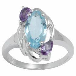 Genuine Gemstone Rings