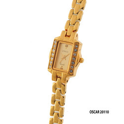 Ladies Fancy Square Dial Wrist Watch