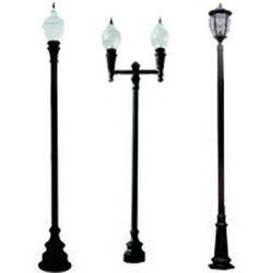 Decorative Light Poles lighting poles manufacturers, suppliers & dealers in indore