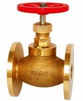 Bronze Globe Steam Stop Valve Flanged