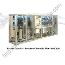 Pharmaceutical Reverse Osmosis Plant - 6000LPH