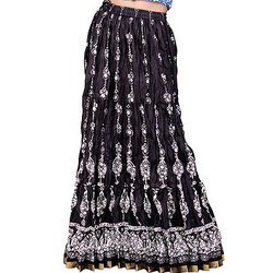 Ladies Cotton Skirts - Ethnic Jewel Designer Cotton Long Skirt ...