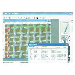 Textile Microscope Analysis Software
