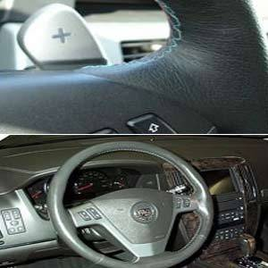 Steering Wheel Leather Covering