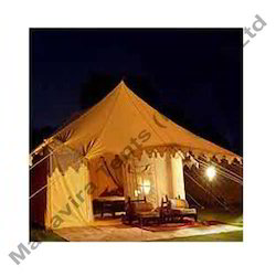 Polyester Blend Canvas Swiss Cottage Tent