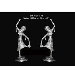 White Metal Dancing Doll