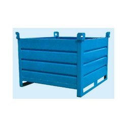 Mild Steel Pallet Formed Bin (PFB), Capacity: Upto 2000 kgs