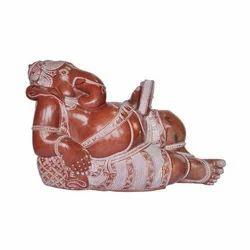 Relaxing Ganesh Wooden Carvings