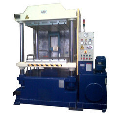 Up-Stroking Press For Rubber Curing