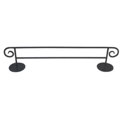Double Towel Rod Stand