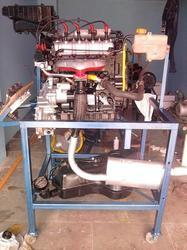 MPFI Engine Working Model
