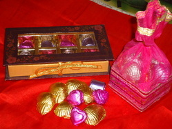Handmade yummy chocolates