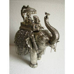 Copper King Elephant Statue