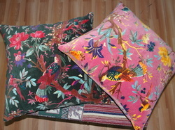 Bird Print Cushion Covers