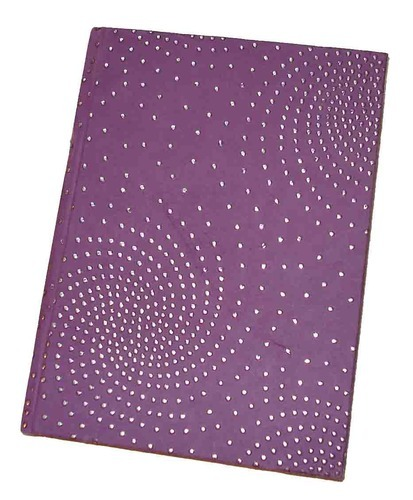 Dew Drop Printed Handmade Paper Notebook