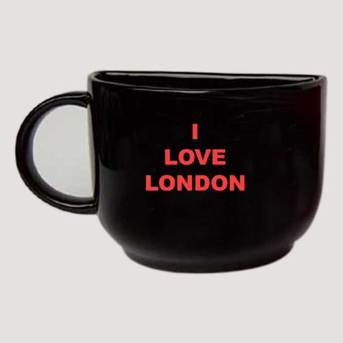 Half Mug - I Love London