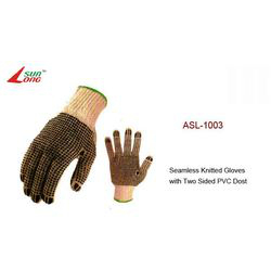 Seamless Knitted Gloves-Dark Colour