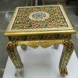 Golden Mina Stool