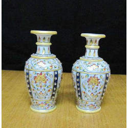 Flower Vase 6 Inch Pair