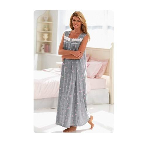 4c45007f22 Sleeveless Nightgown - View Specifications   Details of Ladies Night ...