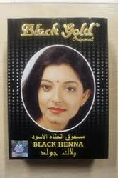 black gold henna