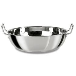 Kitchen Cookware Stainless Steel Kadai Exporter From Mumbai