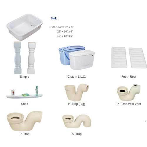One Pc Toilet - Toilet Accessories Exporter from Morbi
