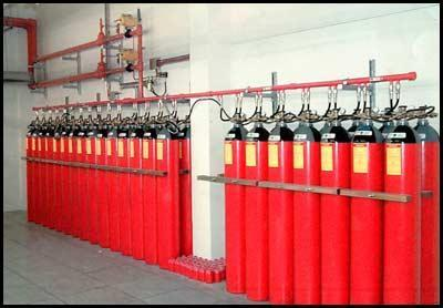 CO2 Gas Based Fire Suppression Systems